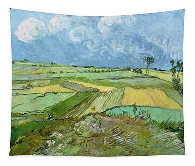 Wheat Fields After The Rain Tapestry