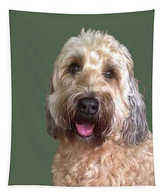 Wheaton Terrier Tapestry