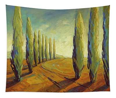 Where Evening Begins 1 Tapestry