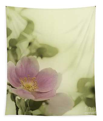 Where The Wild Roses Grow Tapestry