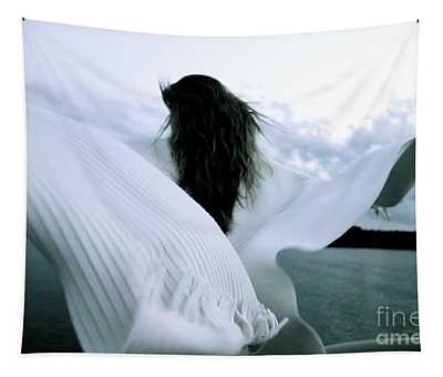 White Angel Tapestry