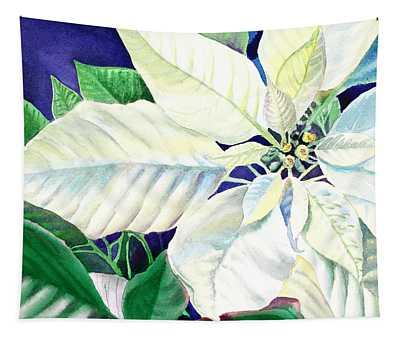 White Christmas Tapestry