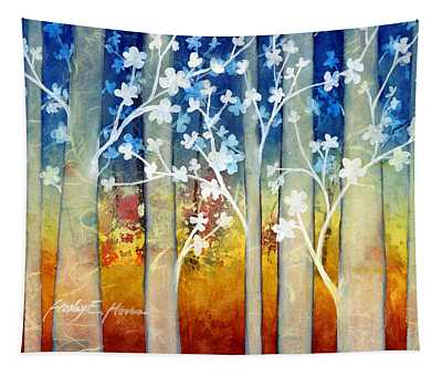 White Forest II Tapestry