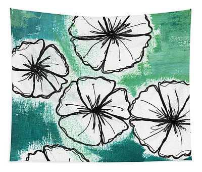 Petunias Wall Tapestries