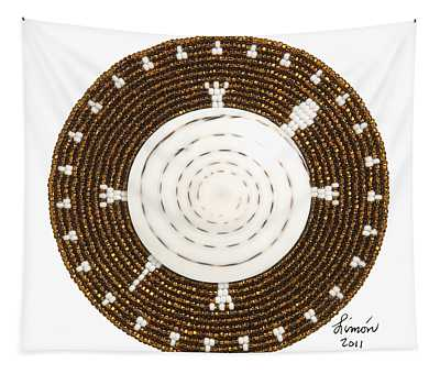 White Shell Tapestry