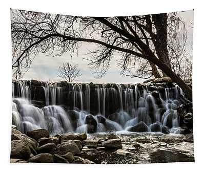 Whitnall Waterfall In Spring Tapestry