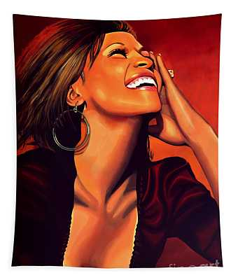 Whitney Houston Tapestry