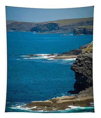 Tapestry featuring the photograph Wild Atlantic Coast by James Truett