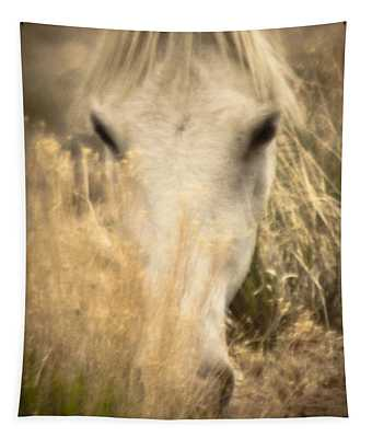 Wild Mustangs Of New Mexico 36 Tapestry