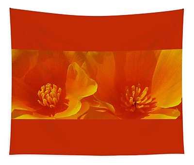 Wild Poppies Tapestry