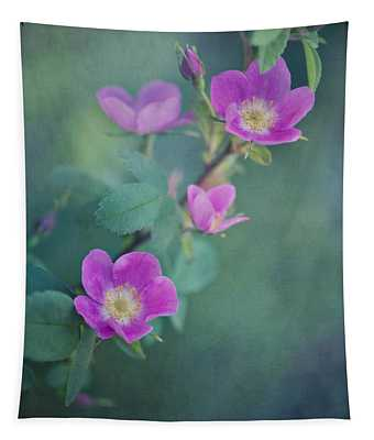 Wild Roses Tapestry