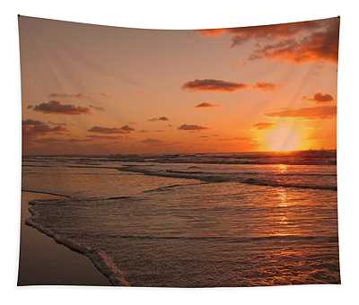 Wildwood Beach Sunrise II Tapestry