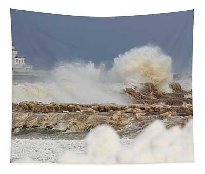 Wind And Ice Tapestry