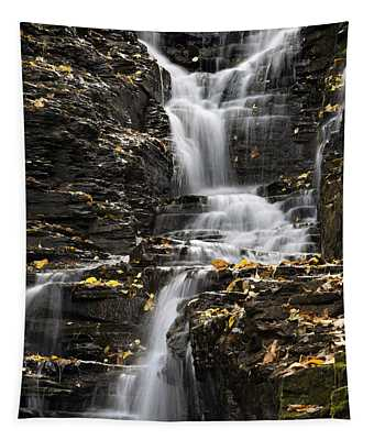 Tapestry featuring the photograph Winding Waterfall by Christina Rollo