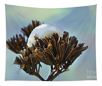 Winter Agave Bloom Tapestry