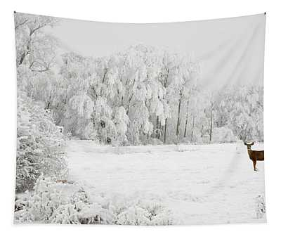 Winter Doe Tapestry