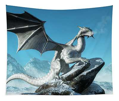 Winter Dragon Tapestry