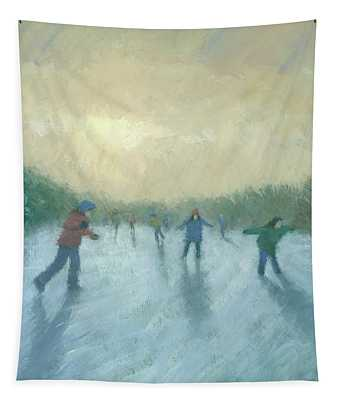 Winter Games Tapestry