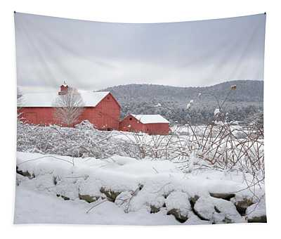 Winter In Connecticut Tapestry