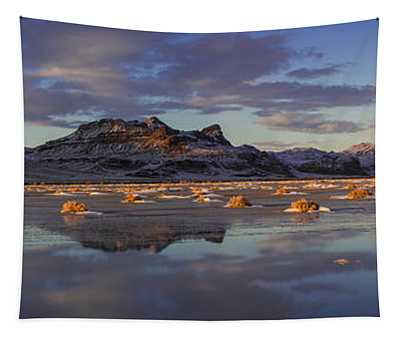 Winter In The Salt Flats Tapestry