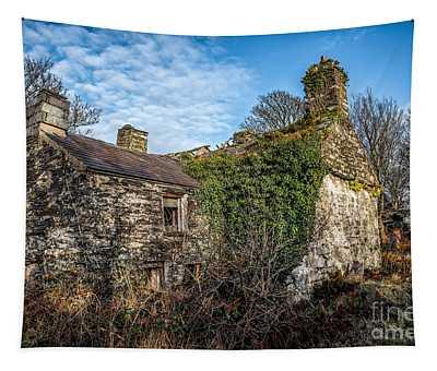 Winter Ruin Tapestry