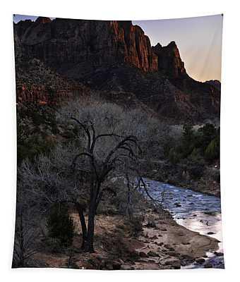 Winter Watchman Tapestry