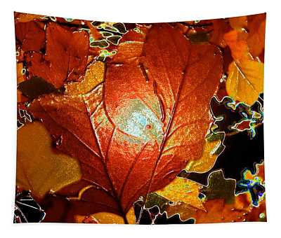 winters autumn in Pasadena Tapestry