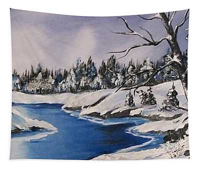 Winter's Blanket Tapestry