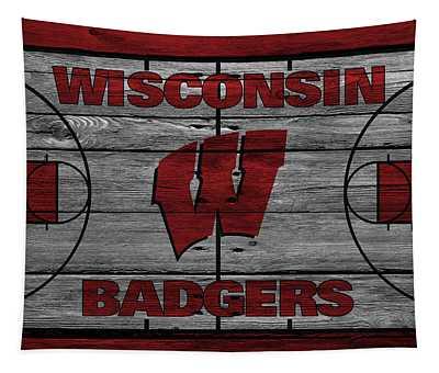 Wisconsin Badger Tapestry