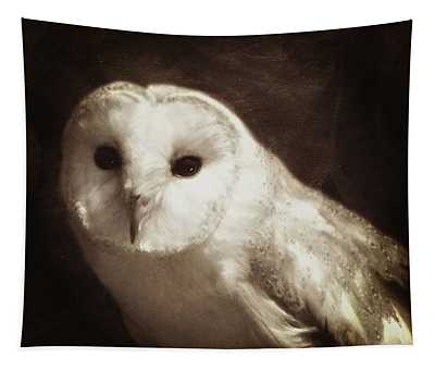 Wisdom Of An Owl Tapestry