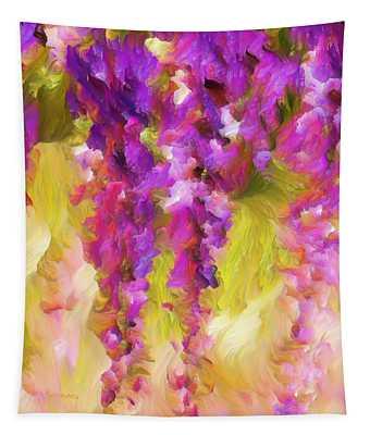 Wisteria Dreams Tapestry