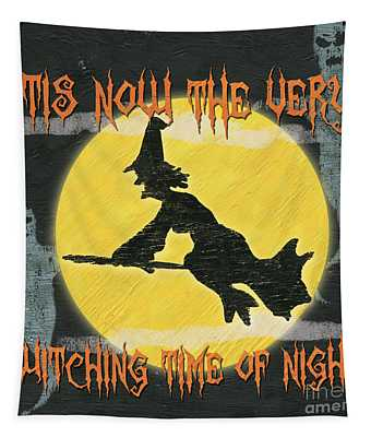 Witching Time Tapestry
