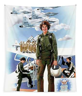 Women Aviators, 1983 Tapestry