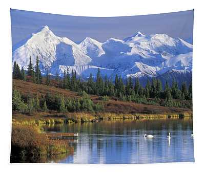 Wonder Lake 2 Tapestry