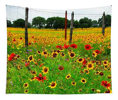 Wonderful Wildflowers Tapestry