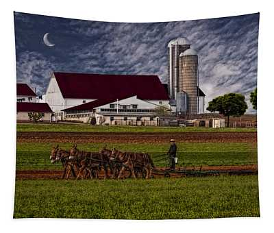Working The Fields Tapestry