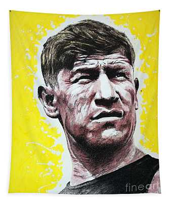 Worlds Greatest Athlete Tapestry