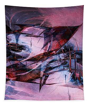 Wounded Sharks Tapestry