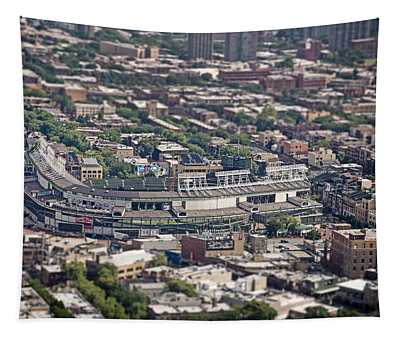 Wrigley Field - Home Of The Chicago Cubs Tapestry