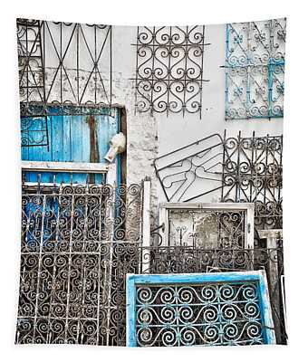 Wrought Iron 1 Tapestry