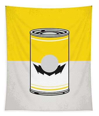 Y Mario Warhols Minimal Can Poster-wario Tapestry