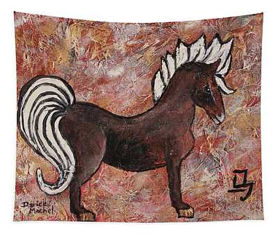 Year Of The Horse Tapestry