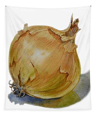 Yellow Onion Tapestry
