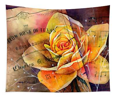 Yellow Rose Of Texas Tapestry