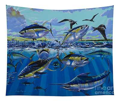 Yellowfin Run Off002 Tapestry