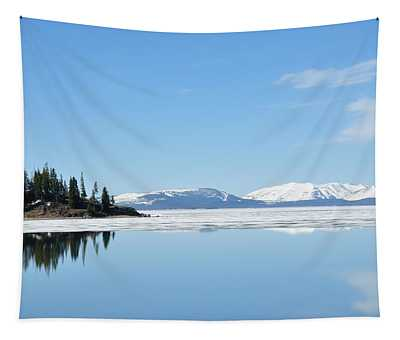Yellowstone Lake In The Spring Tapestry
