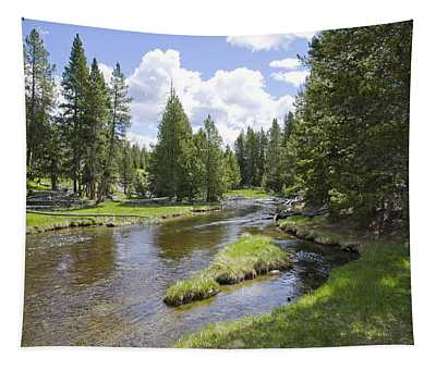 Yellowstone River Tapestry