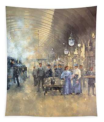 York Railway Station  Tapestry