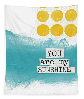 You Are My Sunshine- Abstract Mod Art Tapestry
