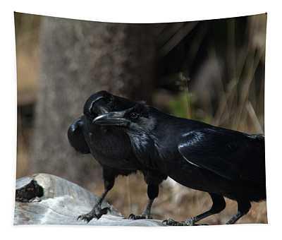 You've Got Something On Your Beak Tapestry
